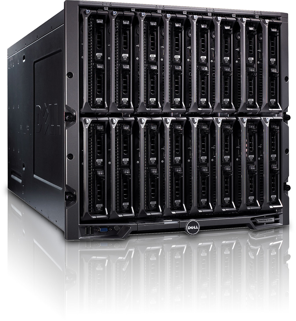 Blade server DELL PowerEdge M1000E